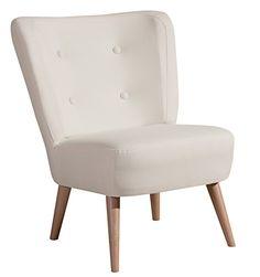 Dieser formschöne Sessel mit vier Zierknöpfen verleiht jedem Raum das gewisse Etwas. Die schlichte Machart im angesagten Retro-Stil macht den Sessel zu etwas Besonderem. Das florale Muster auf hellem Untergrund verleiht Ihrem Wohnraum einen frischen Akzent. Die Rückseite des Sessels ist mit Originalstoff bezogen. Somit ist er frei im Raum stellbar. Füße zur einfachen Selbstmontage.