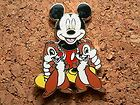 Mickey Mouse & Friends - Booster collection Disney Pin -  Mickey & Chip 'n' Dale #EasyNip