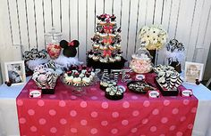 Mickey Minnie Mouse kids party ideas