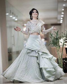 Bridal dresses, Indian Bridal Dresses, Pakistani Bridal Dresses, Latest Bridal d. Indian Fashion Dresses, Indian Gowns Dresses, Indian Designer Outfits, Designer Dresses, Designer Wear, Indian Wedding Gowns, Indian Bridal Outfits, Pakistani Bridal Dresses, Indian Wedding Clothes