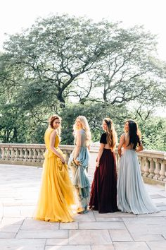 Barefoot Blonde Amber Fillerup best friend shoot in Leanne Marshall gowns