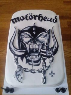 Motorhead cake