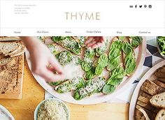 Create a website that's as fresh as your restaurant with this modern vegetarian restaurant template. With an easy-to-edit menu, it has never been easier to attract customers to sample your dishes. Click
