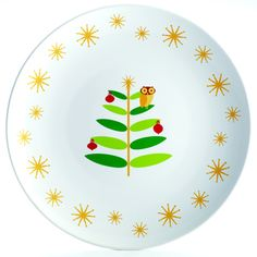 @Overstock - Now in time for the holiday season, Little Hoot transforms into Holiday Hoot and adorns this Rachael Ray 14-inch platter to help serve up mini lasagnas or garlic knots to guests during the perfect holiday party.http://www.overstock.com/Home-Garden/Rachael-Ray-Holiday-Hoot-14-inch-Round-Platter/7471056/product.html?CID=214117 $39.99