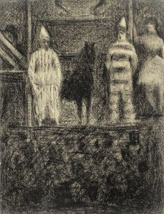 A drawing by Seurat, this is one of my favorites..