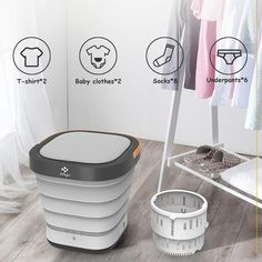 Hot Sale-Magic Folding Washing Machine – Inssquare