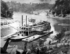 Steamboat Rowena docked at Burnside, Pulaski County, KY Later it caught fire and was completely destroyed! Steam Boats, Dust Bowl, Somerset, Rafting, Time Travel, Kentucky, Fire, History, Rivers