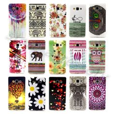 For Samsung Galaxy Colorful TPU Rubber Classical Design Soft Silicone Case Cover