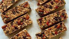 No-Bake Superfood Granola Bars