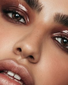 Beauty Shoot, Beauty Bar, Dusky Skin, Glossy Eyes, Big Lashes, Queen Kate, Teased Hair, Glass Skin, Editorial