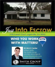 Now Under Contract! Looking to buy or sell a home? Let the Smith Group guide you.