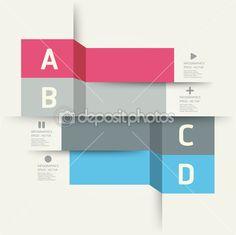 couleur douce du modèle design moderne, peut être utilisé pour infographie — Illustration #25231049