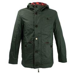 Baracuta Ridley Waxed Dark Green Jacket.