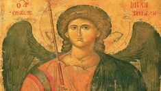 Archangel Michael he who is like god Heaven and Earth: Art of Byzantium from Greek Collections (Getty Villa Exhibitions) Byzantine Art, Byzantine Icons, National Gallery Of Art, Religious Icons, Religious Art, Art Beauté, Archangel Prayers, Sacred Art, St Michael