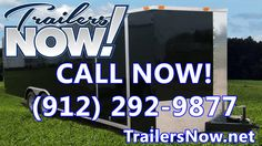 Trailers Now - Enclosed Cargo Trailers -  8.5x24 8.5x20 7x16 6x12 8.5x28...