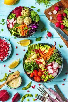 Buddha Bowl Rezepte – Detox diet – Detox World Clean Eating Diet, Clean Eating Recipes, Healthy Recipes, Rice Recipes, Pork Recipes, Lunch Recipes, Salad Recipes, Healthy Eating, Detox Smoothie Recipes