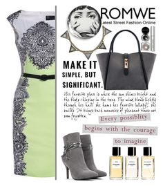 """""""Romwe 10."""" by selmagorath ❤ liked on Polyvore featuring Mixit, Fornasetti, Bobbi Brown Cosmetics, Chanel, vintage and romwe"""