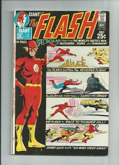 FLASH #205 Great Bronze Age 64-page Giant from DC Comics! GRADE 8.0 http://r.ebay.com/1yQ1fA