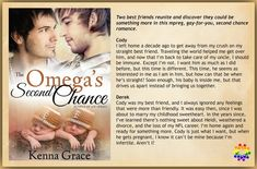 RELEASE BLITZ - The Omega's Second Chance (Bundle of Joy Series) by Kenna Grace