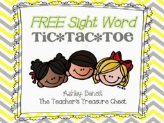 """Sight Word Freebies! ....Follow for Free """"too-neat-not-to-keep"""" teaching tools & other fun stuff :)"""