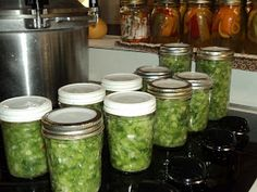 Kids and Canning Jars: Bell Pepper Relish