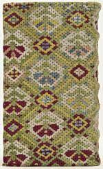 Band van gehaakte bekleding van zijdedraad