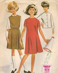 1960s McCall's 6896 Vintage Sewing Pattern by midvalecottage