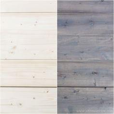 Stain wood naturally using black tea, steel wool and white vinegar
