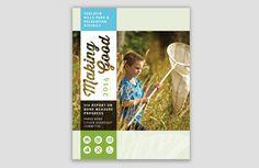 Nonprofit annual report cover | Allegro Design | Portland, OR                                                                                                                                                      More