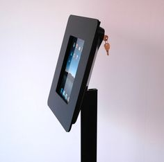 imageHOLDERS provide a secure and versatile tablet kiosk and iPad enclosure solution. For security, each iPad Kiosk has an integrated locking system and the entire unit can be secured to a wall, floor, counter, desk or other surface   imageHOLDERS