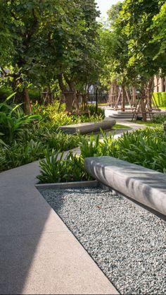 30 Most Amazing Landscape Design Ideas You Have To See - Garten Landschaftsgestaltung Modern Landscape Design, Landscape Architecture Design, Urban Architecture, Landscape Plans, Modern Landscaping, Front Yard Landscaping, Urban Landscape, Backyard Landscaping, Landscaping Ideas