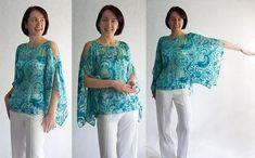 Como hacer una blusa de gaza para el verano ~ Mimundomanual