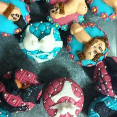 Bachelorette party CupCakes by ChefRBK realicen sus pedidos