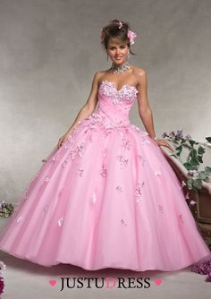 Ball Gown Sweetheart Neck Floor Length Organza Quinceanera Dresses With Beading Applique Lace