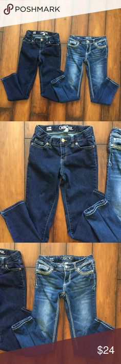 Cherokee pants bundle (girls) Cherokee pants for girls. Size 8 and in great condition. Cherokee Bottoms Jeans