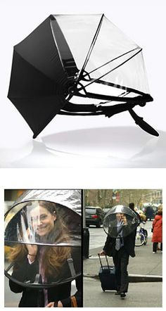 Nubrella is no ordinary umbrella. It's a revolutionary new product that protects you against rain, wind, sleet, snow and extreme cold. Designed for the 21st century