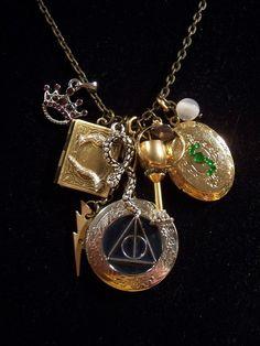 Harry Potter Horcrux charm necklace