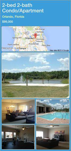 2-bed 2-bath Condo/Apartment in Orlando, Florida ►$99,000 #PropertyForSaleFlorida http://florida-magic.com/properties/33772-condo-apartment-for-sale-in-orlando-florida-with-2-bedroom-2-bathroom