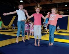Sky High Sports The Trampoline Place Imagine How Much Fun It Will Be To Birthday Partybirthday Party Placesbirthday