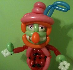 Black Cat Balloon Company's Muppet Project: Dr. Teeth