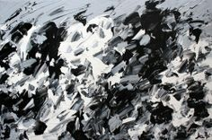 Abstract for SALE - Lost it to trying Julien Aubé Abstract Art, Creations, Lost, Mountains, Artist, Painting, Dawn, Toile, Artists