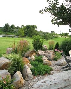 Why cultivate a rock garden? They're low-maintenance. They're in season all year round. They add variety to the landscape. Need another reason? Rock gardens are creative reflection of amazing…MoreMore  #LandscapingandOutdoorSpaces