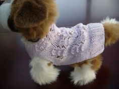 Dog clothes dog sweater pet clothes cat clothes hand by CUTIEDOG, £13.50