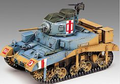 stylecolorful - NEW Stuart 'Honey' Academy Model Kit Tank Military US British Army War www. Plastic Model Kits, Plastic Models, M3 Stuart, Bolt Action Miniatures, Anzac Soldiers, Trump Models, British Army, British Tanks, Model Tanks