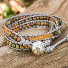 Remarkable Wedding anniversary Items can be a challenge to come by, but your search stops here! Beaded Wrap Bracelets, Gemstone Bracelets, Necklaces, Fall Jewelry, Jewelry Ideas, Fall Accessories, Mom Birthday Gift, Jewelry Packaging, Silver Stars
