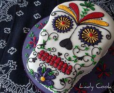Bolo Caveira Mexicana