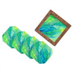 Rosie Brown The Sea Coaster Set | DENY Designs Home Accessories #art #coasters #beverage #bar #homedecor #denydesigns