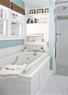 mueble sobre bañera