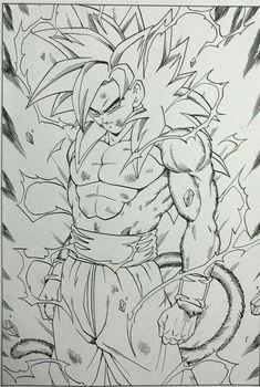Comece a Fazer Seus Desenhos Favoritos Agora Mesmo! Veja Aqui Goku Drawing, Ball Drawing, Dragon Ball Z, Dbz Drawings, Manga Dragon, 4 Tattoo, Art Anime, Anime Sketch, Fan Art