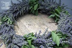Making a Lavender Wreath : How-To..... this one looks wonderful, will try this